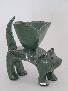 Clementina Ceramic Cat - Minnaloushe