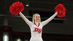 Drury University, yes, I too was once a cheerleader at DU