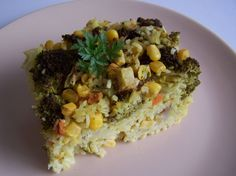 Zapekaná ryža so zeleninou