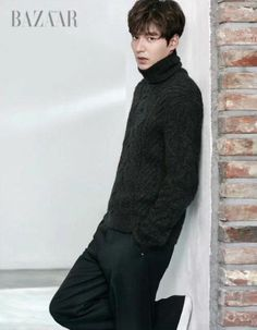 Lee Min Ho Covers December Harper's Bazaar | Couch Kimchi