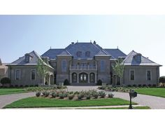 """Eplans Chateau House Plan - Grand Manor - 8126 Square Feet and 5 Bedrooms from Eplans - House Plan Code HWEPL13423 - """"Eagle's Nest"""""""