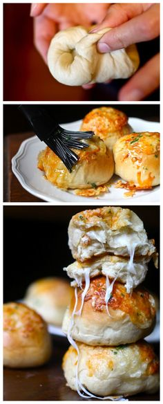 Peetas Stuffed Cheese Buns