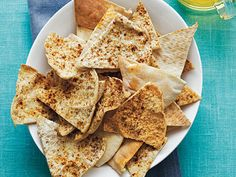 Baked Pita Chips | Got a killer craving for something sweet or salty? Satisfy your hunger with these easy-to-make snacks and treats the whole family will love.