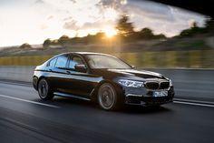 Voorlopig topmodel van nieuwe 5-serie: BMW M550i x-Drive