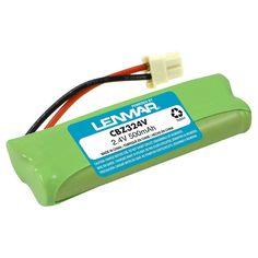 Lenmar Cordless Phone Battery - Green (CBZ324V)