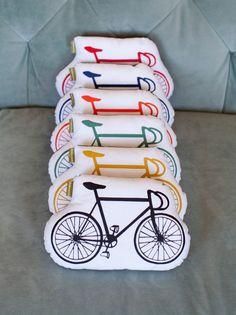 organic bicycle pillows