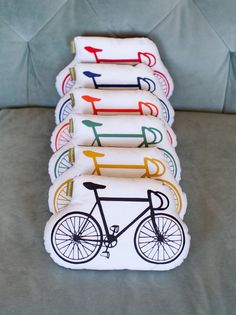 organic bicycle pillows