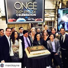#Repost @marckayne with @repostapp. ・・・ Happy 100th Episode! So awesome, congrats you guys!!! #OnceTurns100 #onceuponatime #OUAT
