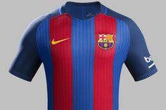 Barcelona Luncurkan Jersey Kandang 2016/17 - Bola.net