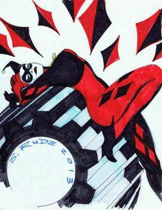 Harley Queen - Steve Rude