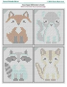 Discover recipes, home ideas, style inspiration and other ideas to try. Cross Stitch Cards, Cross Stitch Baby, Cross Stitch Animals, Cross Stitching, Cross Stitch Embroidery, Embroidery Patterns, Plastic Canvas Coasters, Plastic Canvas Tissue Boxes, Plastic Canvas Crafts