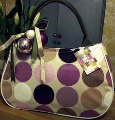 #sophiaandmatt Purple Spot #Handbag,  By Sophia & Matt,#Greenwich #London