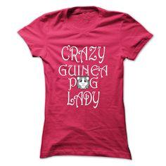 Crazy guinea pig lady tee