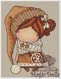 Схемы по эскизам к куколкам Magic__ Dolls – 75 фотографий