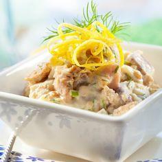 Sillikaviaari valmistuu helposti ja nopeasti. Sinappinen sillikaviaari sopii kesäiseen kalapöytään tai leivän päälle.