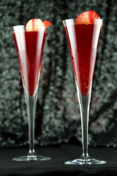 The Red Carpet Glamour Cocktail -- the official cocktail to be served at the official Oscars after-party, The Governors Ball #recipe #entertaining #drinks