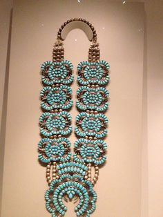 Amazing squash blossom necklace