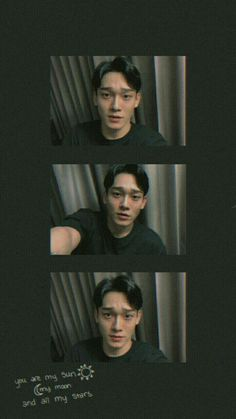 Exo Chen, Chanyeol, Wallpaper Quotes, Wallpaper Backgrounds, Wallpaper Samsung, Dark Wallpaper, Room Wallpaper, Wallpaper Ideas, Exo Red Velvet