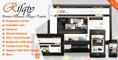 Free Download Template Premium Rifqiy Responsive