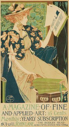 "Vintage Art Deco Magazine Ad- ""International Studio"" Magazine of Fine and Applied Art"