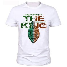 ec9fe454 Like and Share if you want this MMA T Shirts The King Conor Mcgregor T shirt