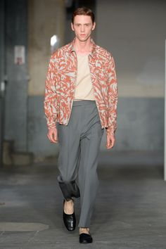 Lemaire   Menswear - Spring 2018   Look 8