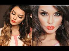 Spring Makeup Look Orange Lips 2014. MakeupByEvon. https://www.youtube.com/watch?v=UuIa9jfxcf0&list=UU6bzjiSPsownm-HdVTOs16A