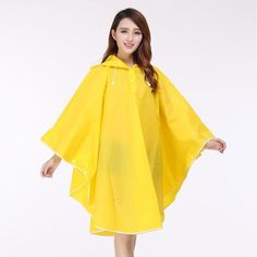 EVA Fashion Sexy Girls Women Lady Vinyl  Rain Cape Jacket Women Long Sleeve Rain Coat Rainwear Waterproof Raincoat For Traval-in Raincoats from Home & Garden on Aliexpress.com | Alibaba Group #RaincoatsForWomenLongSleeve
