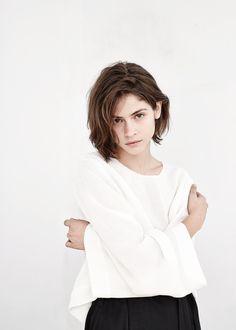 PREMIUM - Wide sleeves blouse