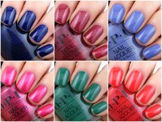 Opi Gel Nail Colors, Opi Gel Nails, Opi Gel Polish, Gel Polish Colors, Manicures, Red Summer Nails, Spring Nail Colors, Spring Nails, Cutical Care