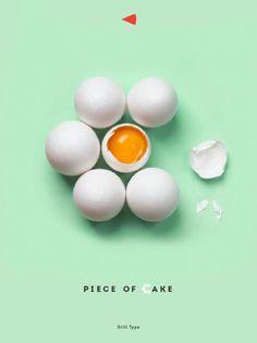 Une Affiche à la Typographie Gourmande par Luda Galchenko