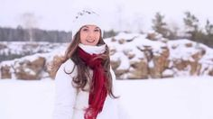 Buy Winter Girl Coming Back by on VideoHive. Beautiful girl in winter clothes runs to the camera and smiles.