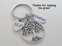 Speech Therapist Appreciation Gift, Keychain Gift for Speech Language Pathologist Appreciation, Speech Language Pathology Thank You Gift - Sites new Staff Gifts, Volunteer Gifts, Gag Gifts, Employee Appreciation Gifts, Volunteer Appreciation, Teacher Gift Baskets, Teacher Gifts, Gift For Architect, Graduation Gifts