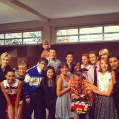 kevinmchale Last Night of Glee  @adamshankman