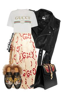 Untitled #2669 by stylebyteajaye on Polyvore featuring polyvore, fashion, style, Gucci, Vetements and clothing