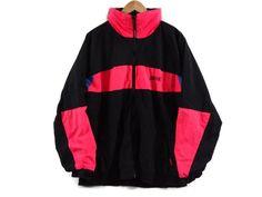 Vintage 90s Brooks Jacket - Large Unisex - Colorblock Windbreaker - Ski Jacket - 90s Clothing - 1990s - Brooks Brand Clothing - Snowboarding by BLACKMAGIKA on Etsy