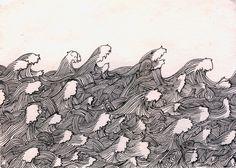 Andy Singleton drawings BEFORE cuts