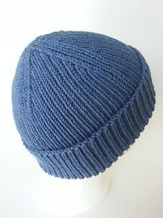 The 1x1 rib as well as the smaller needles make for a dense, very warm hat. The…