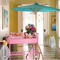 Southern Living Goes Palm Beach Chic - The Glam Pad