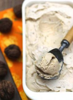 Maple Black Walnut Ice Cream: A delicious custard-style ice cream for Black Walnut lovers.