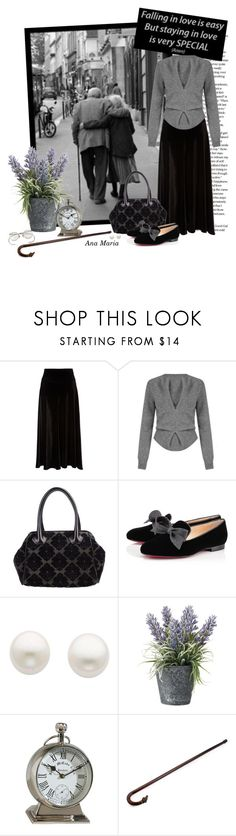 """True Love Stands the Test of Time"" by anamaria-93 ❤ liked on Polyvore featuring Monsoon, J.W. Anderson, Desmo, Christian Louboutin, Reeds Jewelers, OKA, Ethan Allen and Brooks Brothers"