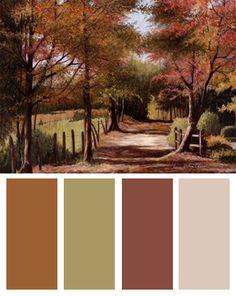 Autumn Color Palettes   Fall Color Palettes « BandagedEar.com Blog