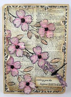 Flores sobre el libro