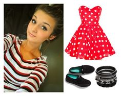 """""""Going out- Jenna"""" by hayhaypanda ❤ liked on Polyvore featuring Keds"""