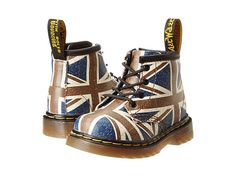 Dr. Martens Kid's Collection Brooklee B 4-Eye Lace Boot (Toddler)!!!! Xoxox