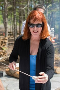 Toasting marshmallows at the fire pit at the Boathouse. Perfect treat after kayaking. Memories With Friends, Boathouse, Marshmallows, Open House, Kayaking, Special Events, Celebration, June, Summer