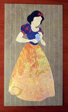 Paper Princess: Briar Rose/Snow White. , via Etsy.