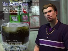 The Trojan Horse – Troy Bradshaw. 1 oz Jagermeister, oz White Sambuca, oz Creme de Menthe, oz Mandarin Liqueur, Fill with Red Bull sambuca drinks Gamer Tags, Trojan Horse, Saints Row, After Hours, Drinking Games, Cocktails, Alcoholic Drinks, 1 Oz, Cocktail
