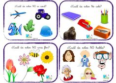 comprensión negación 3 Dora, Language Activities, Educational Games, Conte, Speech And Language, Kids Education, Speech Therapy, Kindergarten, Spanish