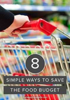 Buying food can be a huge strain on a family's budget, and it's one of those line items that just can't be avoided. As much as we'd love to not have to spend the money, we'll always need to eat. However, there are many ways to save money on your food budget with a little work and creativity. Food Budget, Budget Meals, Frugal Tips, Frugal Meals, Ways To Save Money, Money Saving Tips, Grocery Ads, What Recipe, Home Management